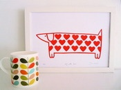*'Walk in the park' red sausage dog