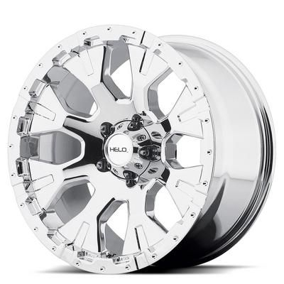 Helo HE878, 17x9 Wheel with 5 on 135 Bolt Pattern - Chrome- HE87879013212N: Custom street look for stock, lowered or lifted trucks.…