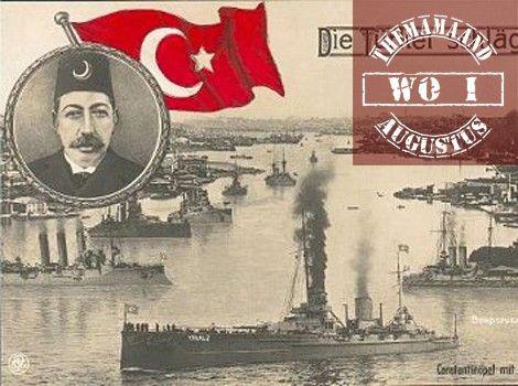 Osmaanse rijk -bondgenootschap -> de Centralen