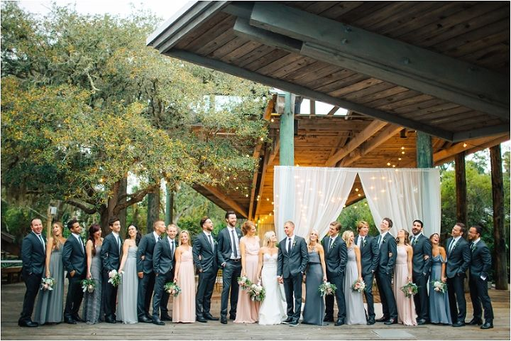 Photo Cred: @breathejphotography #aca #atlanticcenterforthearts #nsbwedding #newsmyrnabeach #newsmyrnabeachwedding #Floridawedding #orlandobride #orlandowedding #misshayleypaige #calvetcouturebride #hayleypaige #haven #marchwedding #weddingparty #bridesmaids #groomsmen