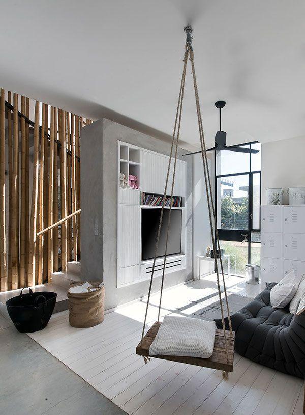 indoor swing, neutrals
