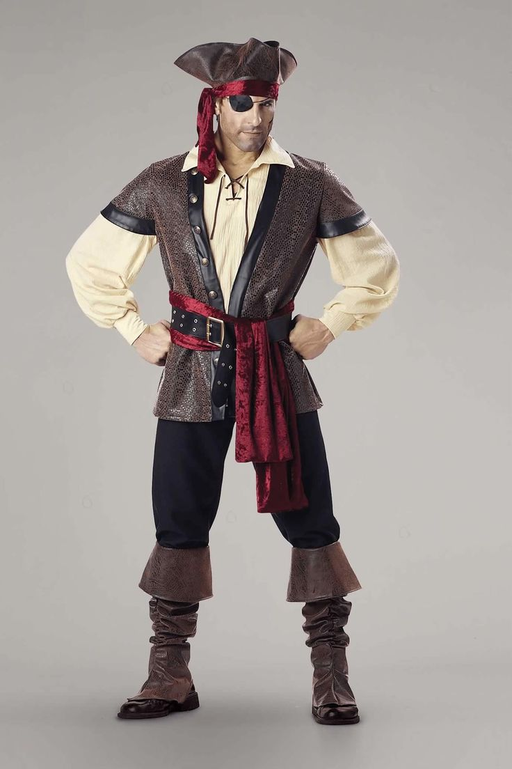Rustic Pirate Costume For Men: #Chasingfireflies $99.97