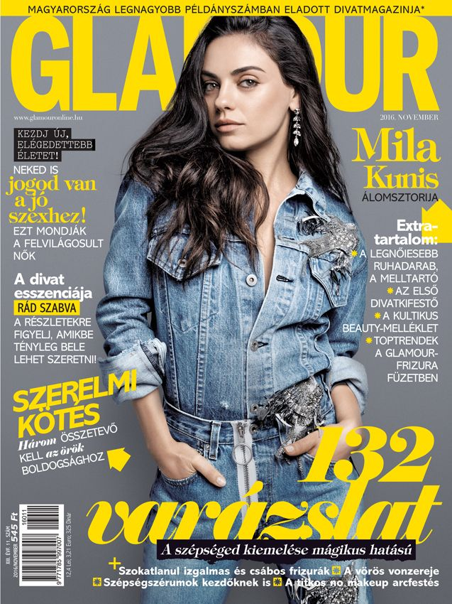 Mila Kunis. November 2016 issue. Photo by Steven Pan