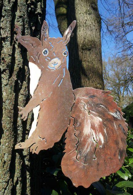 29 best Gartendeko - Bunte Tiere und Skulpturen images on - allium beetstecker aus metall