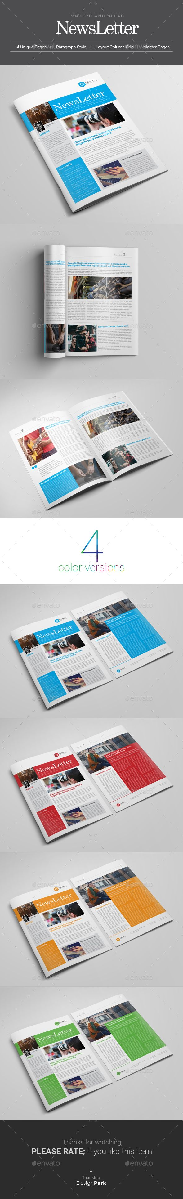 Newsletter Newsletters Print Templates Download here