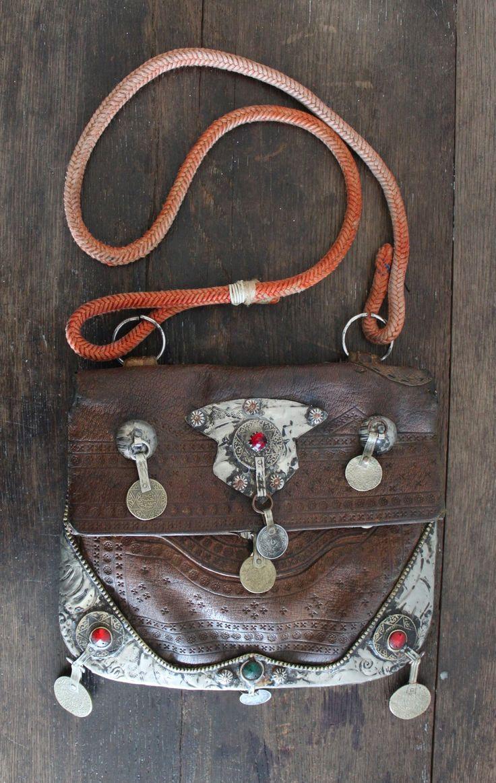 Boho Moroccan Vintage Handbag | Bohemian Accessories