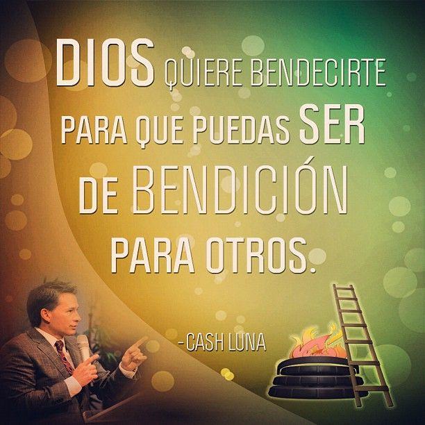 Dios quiere bendecirte para que puedas ser de bendición para otros.