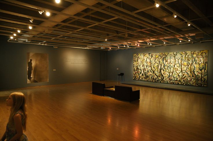 https://flic.kr/p/oFjW1f | Jackson Pollock: Mural-Sioux City Art Center  ---------IMG_1973 sm