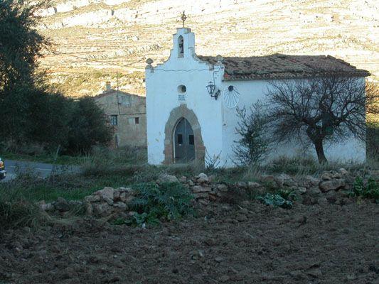 Ermita de la Aldea de La Carrasca en Alpuente, Valencia, Spain