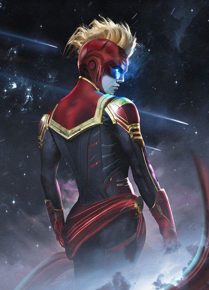 Captain Marvel Mohawk
