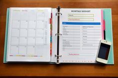 Our Finance binder is a great tool that has helped us tremendously and is sure to help your family's finances in order too.
