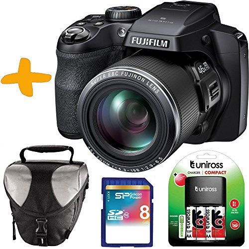 """16.2 Megapixel, 46x optical zoom (24 - 1104mm), 3"""" LCD screen, Electronic viewfinder Continuous shooting; 10fps (max 10frames, full resolution), 60fps (max 60 frames, image size 1280 × 960) ,120fps (max 60 frames, image size 640 × 480) Full HD movie 1080i/60 fps with stereo sound and slow-motion capture at 480fps Super Macro to 1cm (0.39-inch), Manual exposure control (P/S/A/M modes) Advanced in-camera filters for artistic shooting effects."""