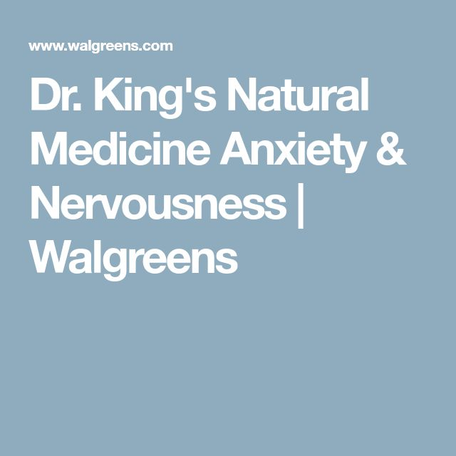 Dr. King's Natural Medicine Anxiety & Nervousness | Walgreens