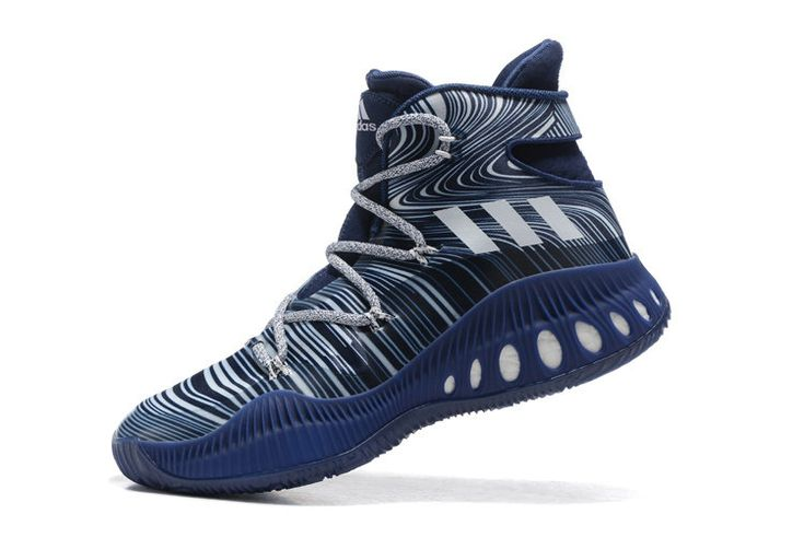 Free Shipping Only 69$ adidas Crazy Explosive John Wall Dark Blue Shock Blue