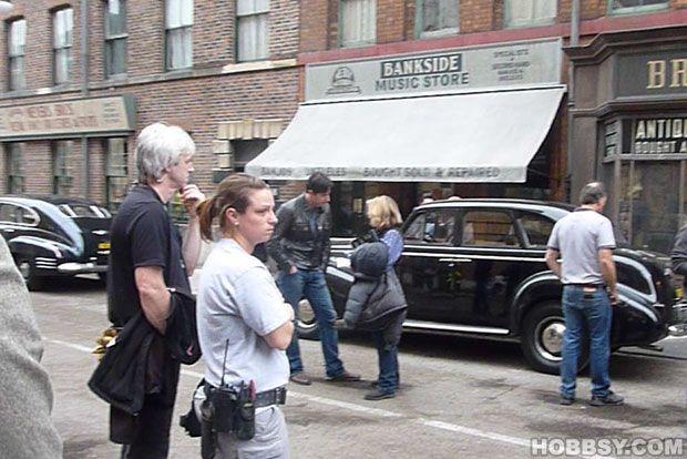Richard Armitage on the Captain America film set, 21 Sep 2010 (by hobbsy com)