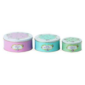 SET OF 3 | BAKING BLISS | CAKE TIN SET  by Spring Tea with Royal Albert