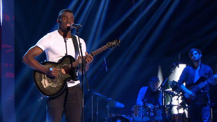 Emmanuel Nwamadi perfumes 'The Sweetest Taboo' - The Voice UK 2015: Blin...