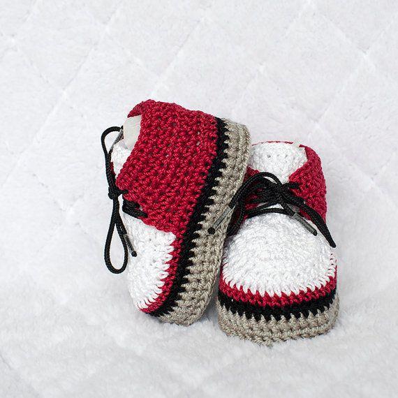 Jungen Schuhe häkeln junge Schuhe Babyschuhe von DaisyNeedleWorks
