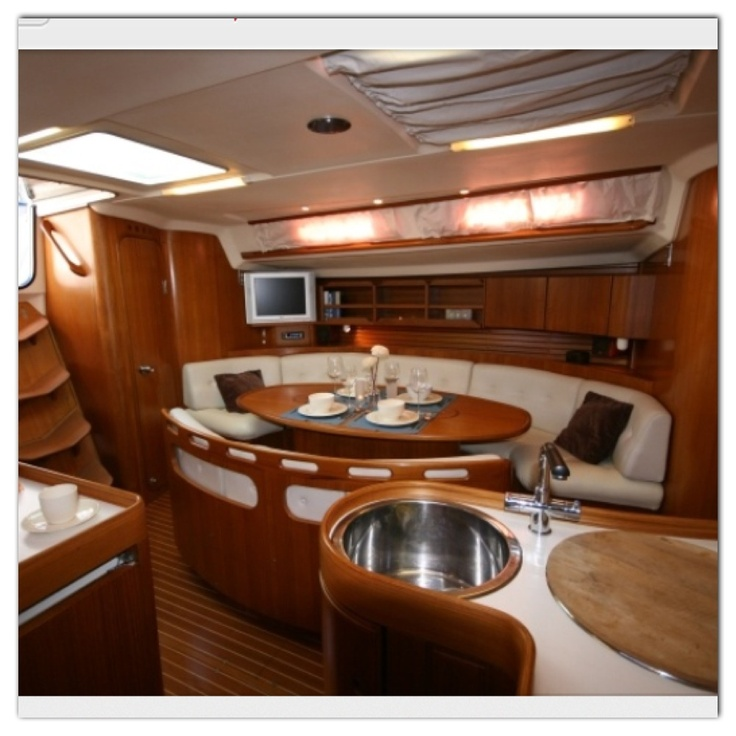 39 best Boat interiors images on Pinterest | Sailboat interior ...