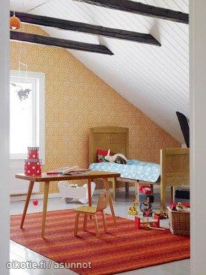 Myytävät asunnot, Käpylänkatu 5 6.osa Pori #lastenhuone #oikotieasunnot