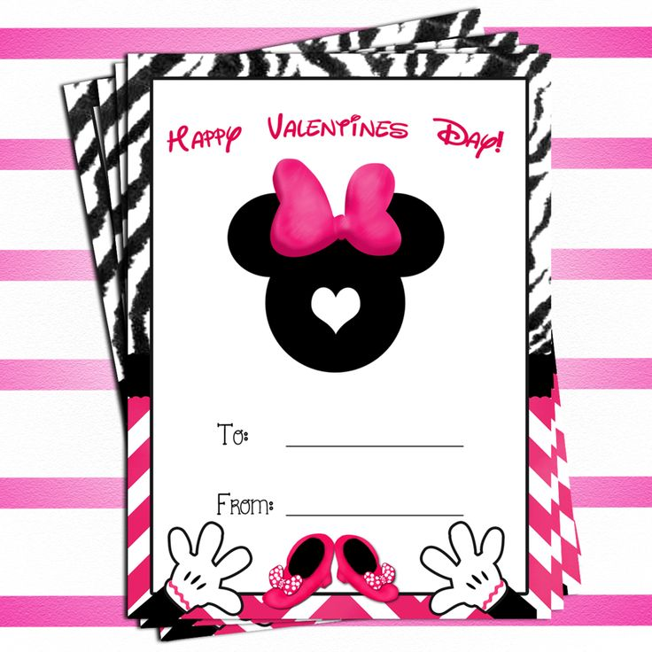 97 best valentines images – Minnie Mouse Valentine Cards