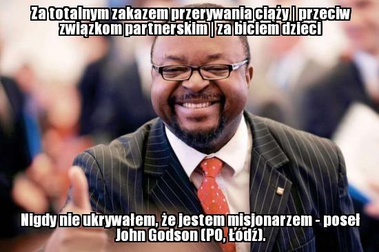 John Godson (PO, Łódź) - http://wiemkogowybieram.blogspot.com/2012/10/john-abraham-godson.html