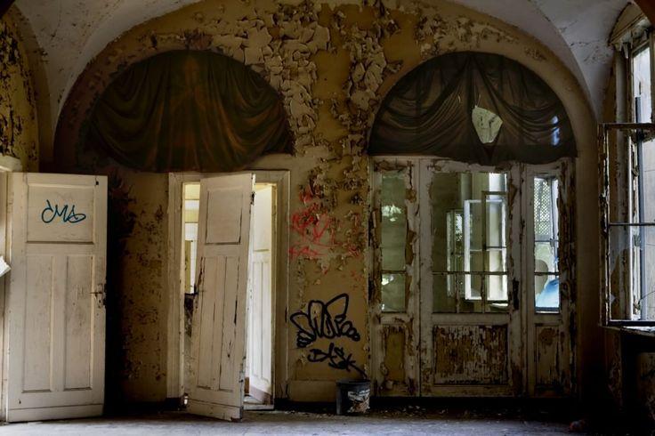Königin Elisabeth Hospital History and Abandoned Photography at Opacity. ..♥.Nims.♥