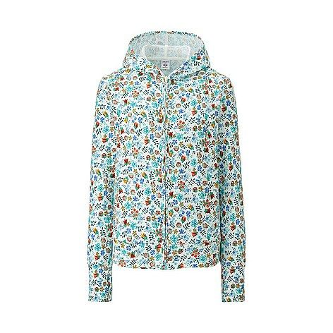 WOMEN LIBERTY LONDON for UNIQLO UV Cut L/S Full-Zip Hoodie