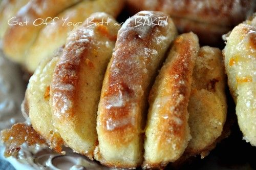Easy Butterflake orange rolls. Oh the possibilities are endless!