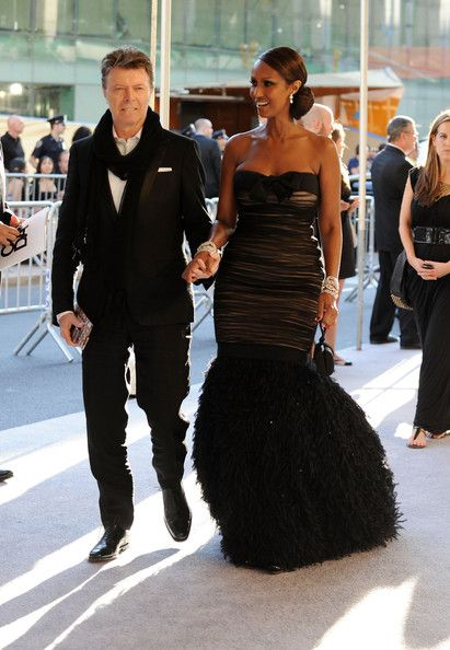 RIP David 8/1/1947 - 10/1/2016 | Iman & David Bowie Celebrate 20 YEARS OF MARRIAGE!
