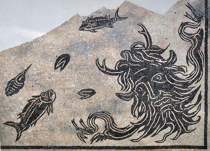Maison des dieux oc an mosa que d couverte en 1967 - Piscine st romain en gal ...