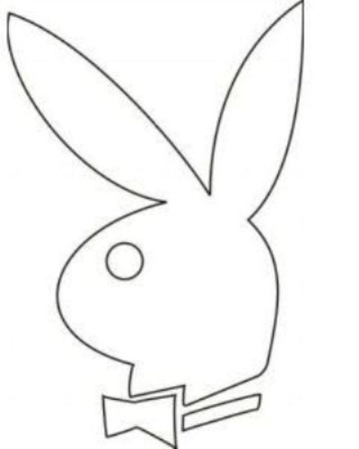 playboy bunny template