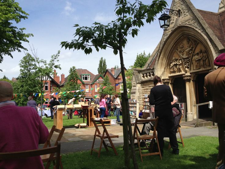 The annual fête at St Augustine's Church, Edgbaston.