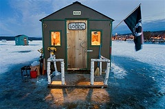 I enjoyed ice fishing when I went in Minnesota but I'd love to go again for an overnight trip!  l