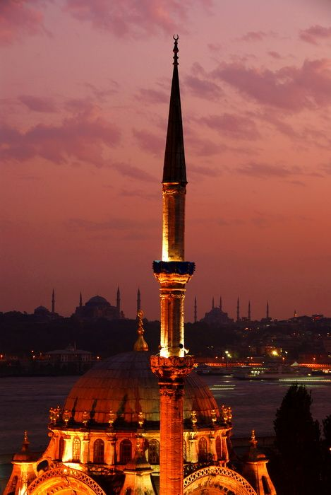 Istanbul Minarets - Cihangir, Istanbul