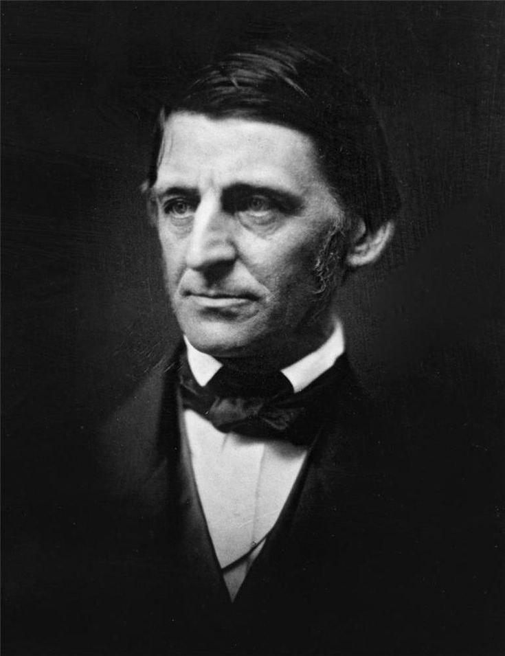 Details about RALPH WALDO EMERSON GLOSSY POSTER PICTURE PHOTO essays philosophy historic 1030