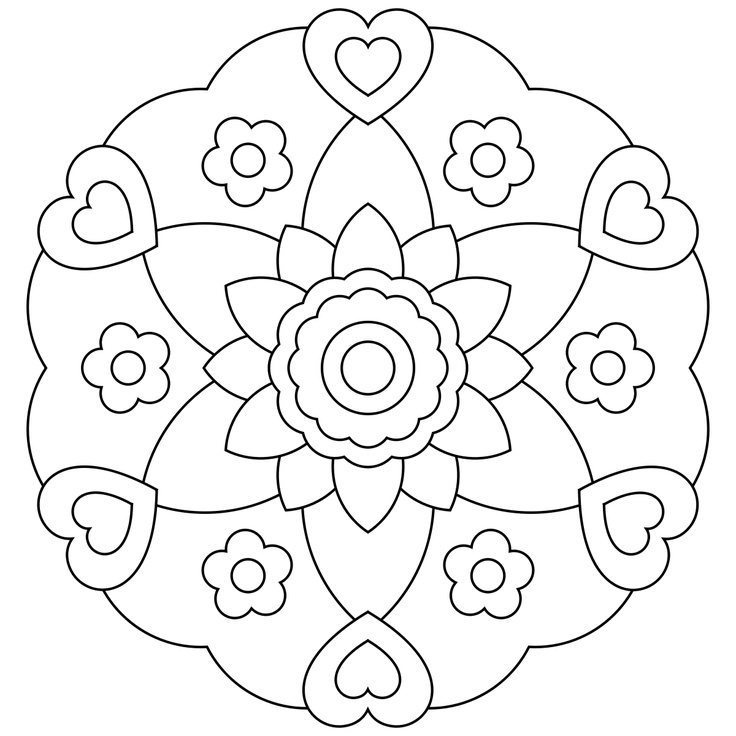 77 best Mandala images on Pinterest | Coloring books, Coloring pages ...