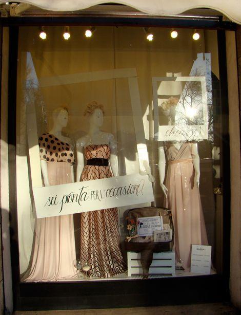 Shoptellers - vetrine con la parlantina - Window display -alessia attanasio marika salerno