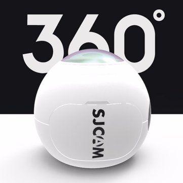 SJCAM SJ360 2K Sport DV 360 Degree Fisheye Lens Panoramic Action Camera Novatek 96660 Chipset