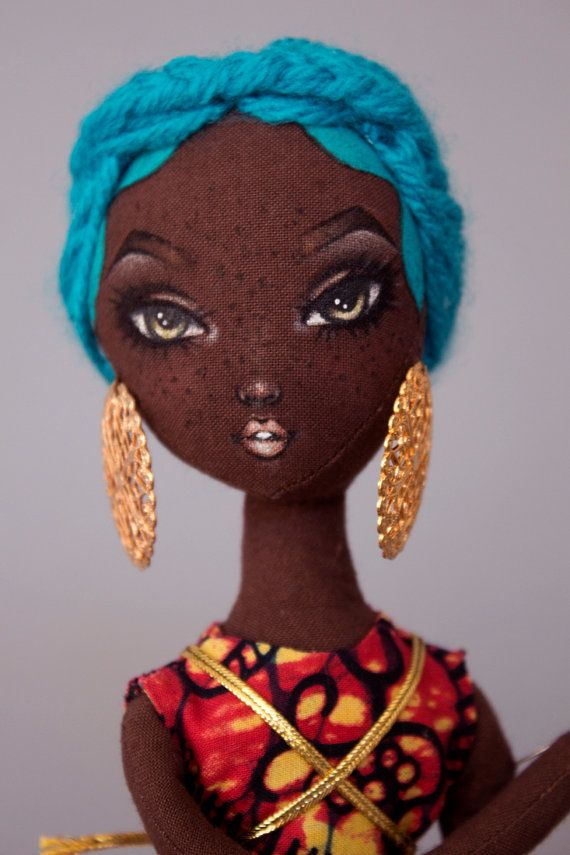 Lady Calypso Pidgin Pose Doll by PidginDoll on Etsy
