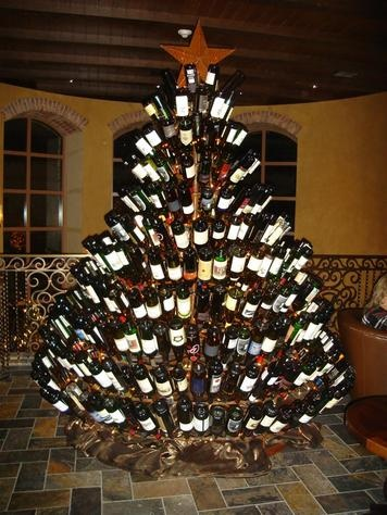 That is a lot of wine bottles