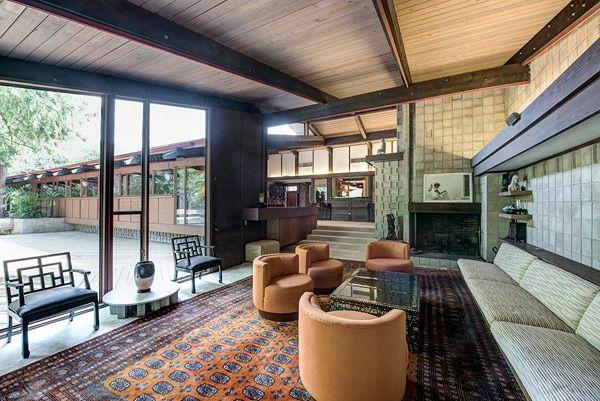 898 best house design images on pinterest midcentury for Mid century modern homes for sale houston