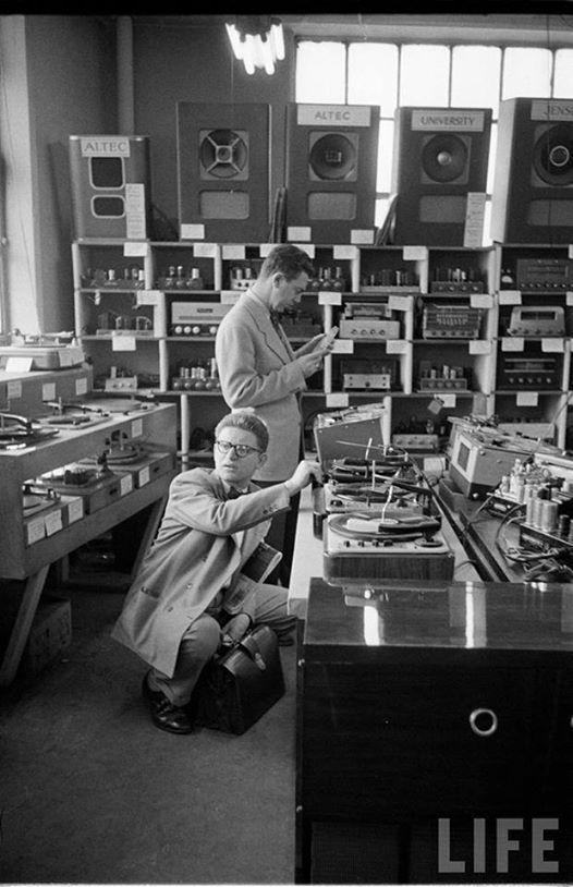 Vinyl and stereo equipment. Vintage Audio