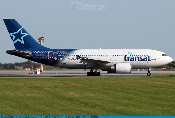 Photo Air Transat Airbus A310-308 C-GTSH