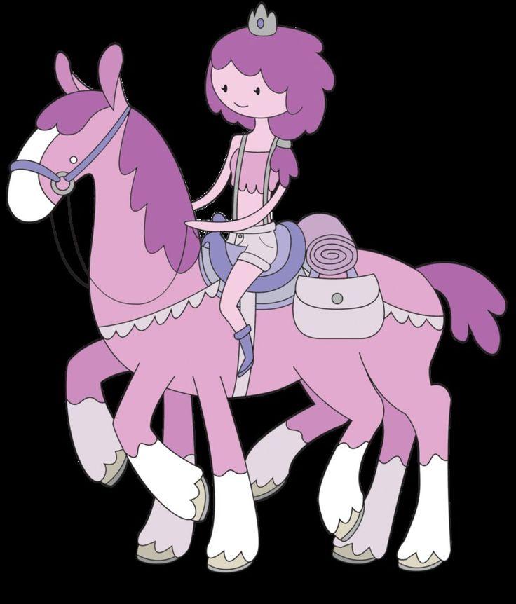 Adventure Time OCs Plum Princess and Pogo by ivyshire