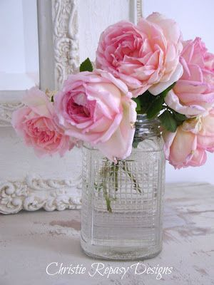 Chateau De Fleurs: I'm Loving The Roses From My Yard!
