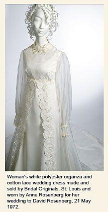 Organza Wedding Dress (1972)
