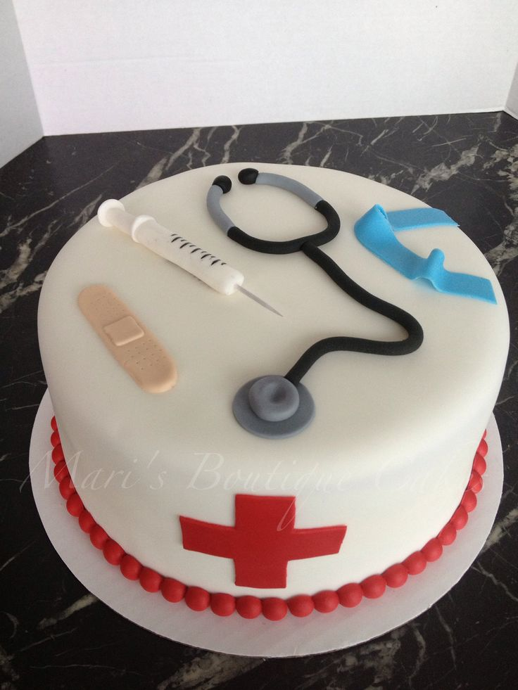 Medical Themed Cake - By Mari's Boutique Cakes