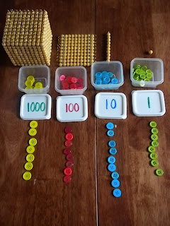 Discovery Days and Montessori Moments: Montessori Stamp Game~ a DIY version