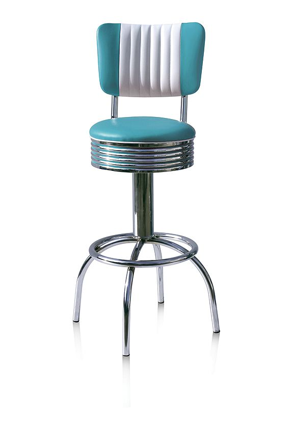 #sgabelli #barstools BS-30CB Turquoise H: 109 cm / H: 77 cm